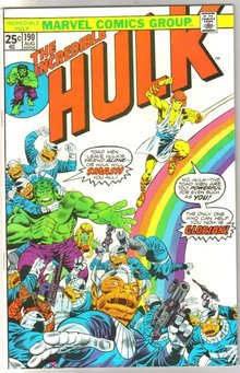 Incredible Hulk #190 comic book near mint 9.4