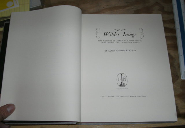That Wilder Image 1962 art book --hardback