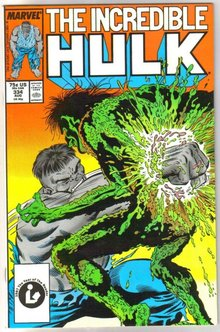Incredible Hulk #334 comic book very fine/near mint 9.0