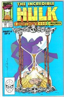Incredible Hulk #367 comic book near mint 9.4