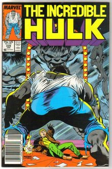 Incredible Hulk #339 comic book near mint 9.4