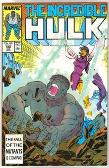 Incredible Hulk #338 comic book near mint 9.4