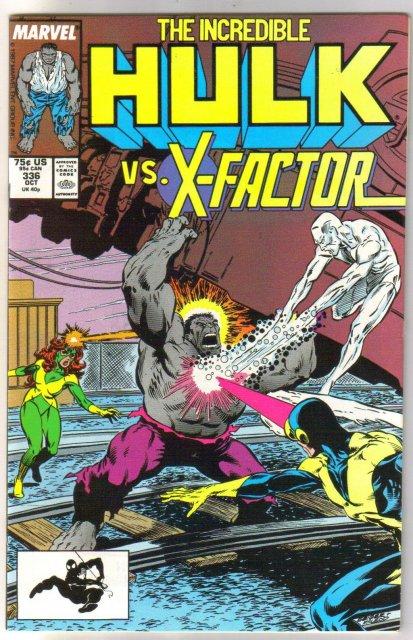 Incredible Hulk #336 comic book near mint 9.4