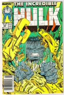 Incredible Hulk #343 comic book mint 9.8