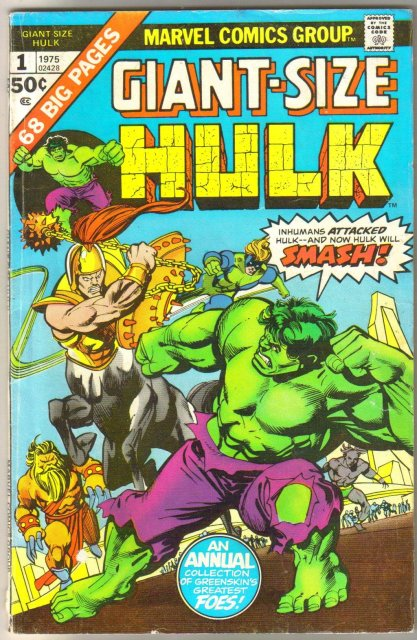 Giant-Size Hulk #1 comic book very good/fine 5.0