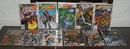 Assortment of 11 Marvel miscellaneous comic books