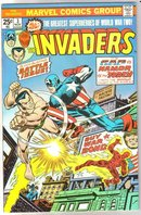 Invaders #3 comic book very fine/near mint 9.0