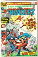 Invaders #6 comic book near mint 9.4