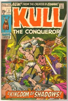 Kull the Conqueror #2 comic book very fine 8.0