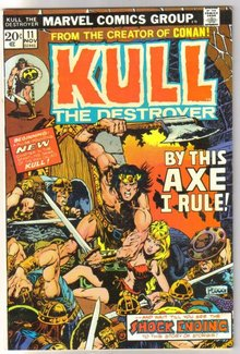 Kull the Conqueror #11 comic book very fine 8.0