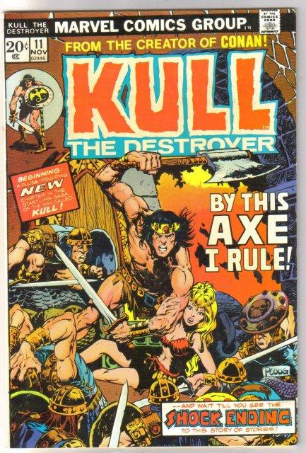 Kull the Conqueror #11 comic book very fine 8.0