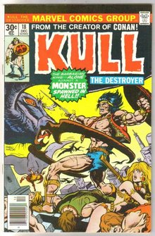 Kull the Conqueror #18 comic book very fine/near mint 9.0