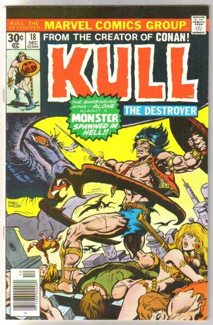 Kull the Conqueror #18 comic book very fine/near mint 9.0