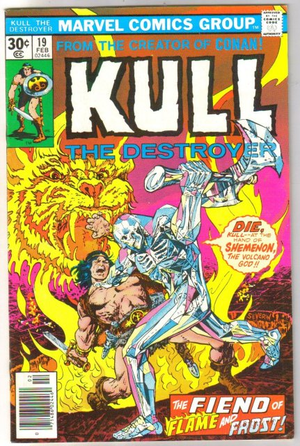 Kull the Conqueror #19 comic book very fine/near mint 9.0