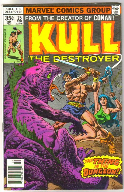 Kull the Conqueror #25 comic book very fine/near mint 9.0