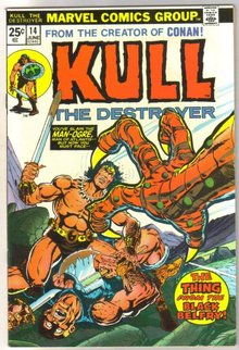 Kull the Conqueror #14 comic book near mint 9.4
