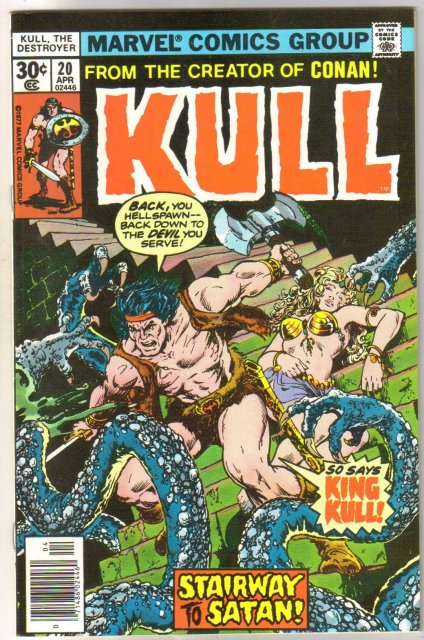 Kull the Conqueror #20 comic book near mint 9.4