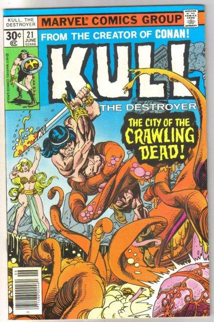 Kull the Conqueror #21 comic book near mint 9.4