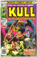 Kull the Destroyer #22 comic book near mint 9.4