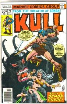 Kull the Destroyer #23 comic book near mint 9.4