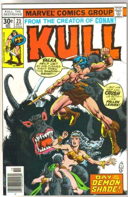 Kull the Destroyer #23 comic book near mint 9.4