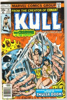 Kull the Destroyer #28 comic book near mint 9.4
