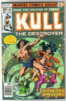 Kull the Destroyer #26 comic book mint 9.8