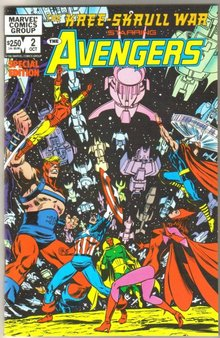 Kree-Skrull War Starring Avengers #2  comic book mint 9.8