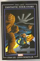 The Last Fantastic Four Story comic book near mint 9.4