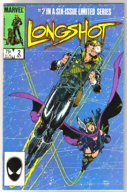 Longshot #2 comic book near mint 9.4