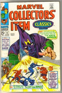 Marvel Collectors' Item Classics #15 comic book very good 4.0