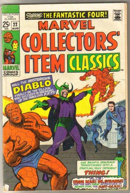 Marvel Collectors' Item Classics #22 comic book very good 4.0