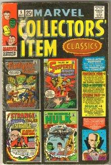 Marvel Collectors' Item Classics #5 comic book very good 4.0