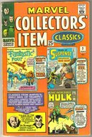 Marvel Collectors' Item Classics #3 comic book very good plus 4.5
