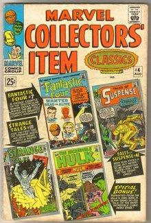 Marvel Collectors' Item Classics #4 comic book very good/fine 5.0