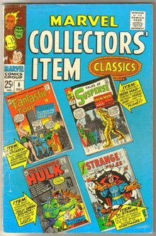 Marvel Collectors' Item Classics #6 comic book very good/fine 5.0