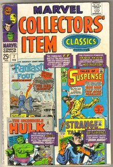 Marvel Collectors' Item Classics #7 comic book very good/fine 5.0