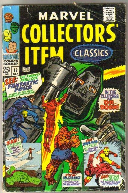 Marvel Collectors' Item Classics #12 comic book very good/fine 5.0