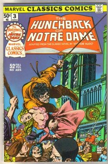 Marvel Classics Comics #3 The Hunchback of Notre Dame comic book very fine/near mint 9.0