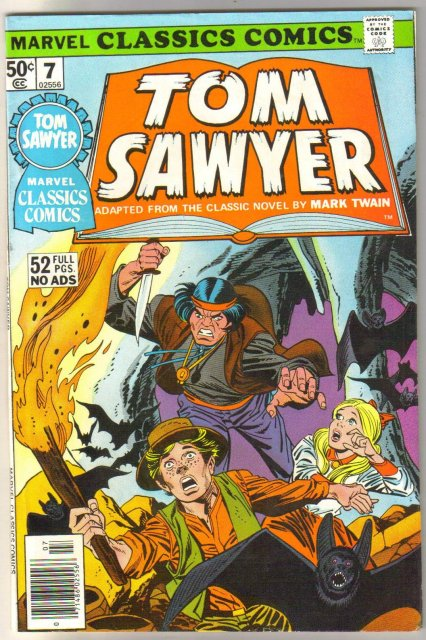 Marvel Classics Comics #7 Tom Sawyer comic book very fine 8.0