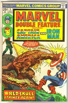 Marvel Double Feature #5 comic book very fine/near mint 9.0