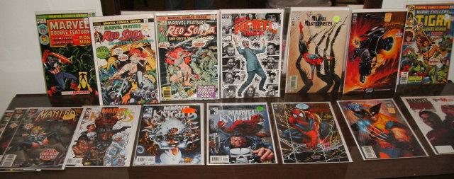 Marvel assortment of 16 various comic books