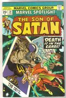 Marvel Spotlight on The Son of Satan #20 comic book very fine 8.0