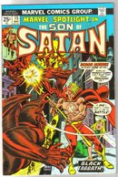 Marvel Spotlight on The Son of Satan #15 comic book near mint 9.4