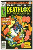 Marvel Spotlight on Deathlok the Demolisher #33 comic book  mint 9.8