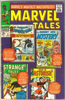 Marvel Tales #8 comic book very good 4.0