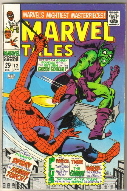 Marvel Tales #12 comic book very good/fine 5.0