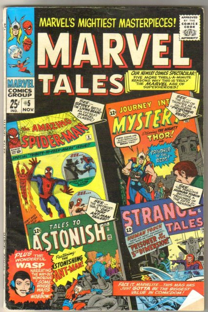 Marvel Tales #5 comic book very good/fine 5.0