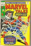 Marvel Tales #20 comic book fine 6.0