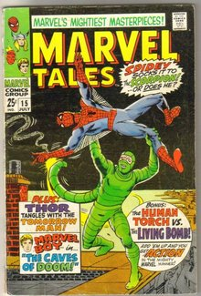 Marvel Tales #15 comic book fine 6.0